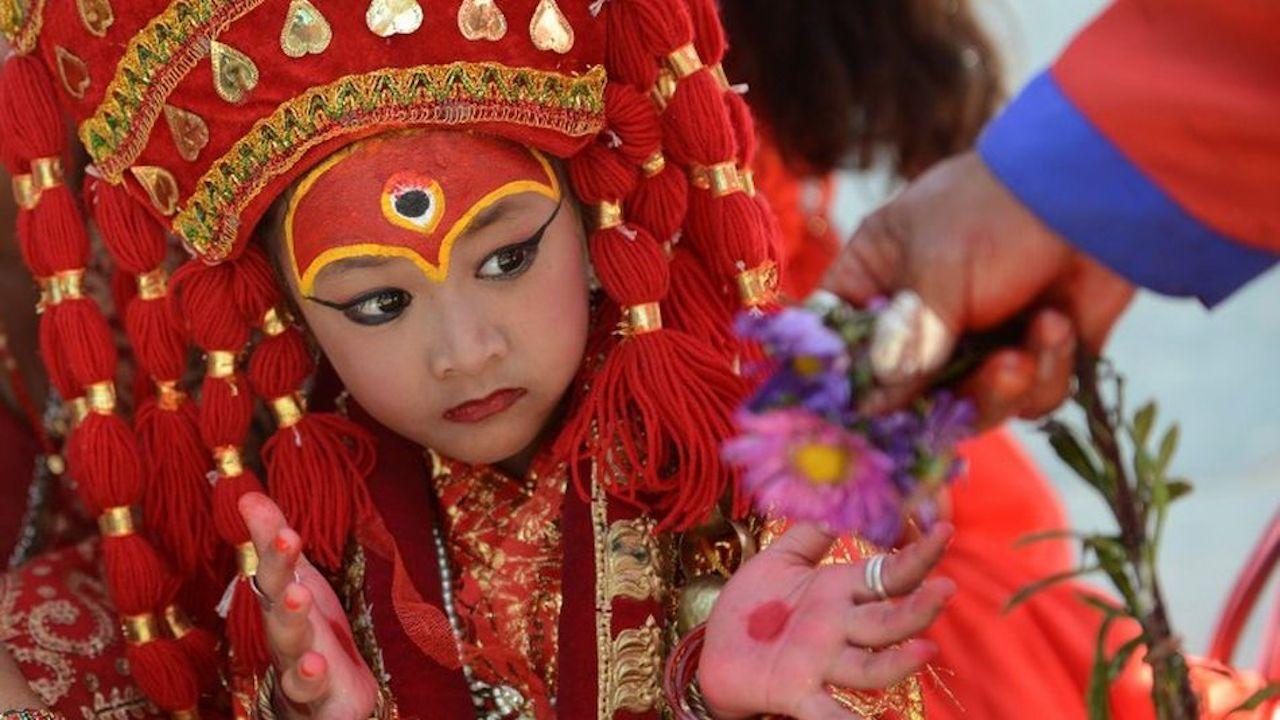 नेपाळी कुमारी देवी