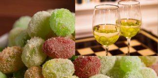 फ्रोझन द्राक्षे