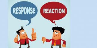 भावनांना ताब्यात ठेवण्यासाठी क्रियेला प्रतिक्रिया कशी द्यावी