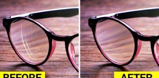 चष्म्याच्या काचांवरील स्क्रॅचेस (ओरखडे) घालवण्याचे ४ सोपे उपाय