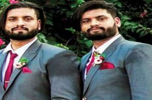 twin brothers died due to covid marathi
