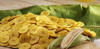 केळी वेफर्सची निर्मिती