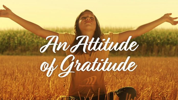 Law of attraction Gratitude turns what we have into enough आकर्षणाचा सिद्धांत मराठी